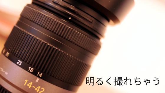 レンズフード付き 斜めにアップ ズームレンズ 薄ピンクの背景 カメラ 写真  GF1  用途  単焦点 違い パンケーキレンズ