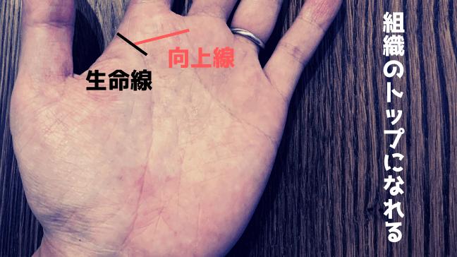手相 向上線 希望線 中指 枝分かれ クロス 長い 違った意味の手相 根元もチェック